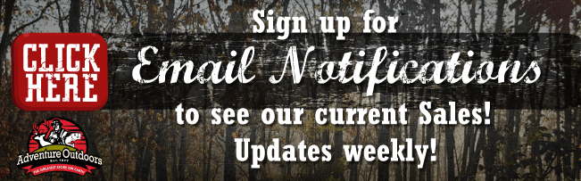 Sign Up For Our Email Blasts